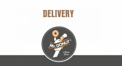 Aπόλαυση στον χώρο σας μέσα από τον κατάλογο Delivery Mr Donut!