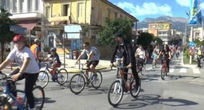 Ξεκινούν οι ποδηλατοπορείες στη Σπάρτη