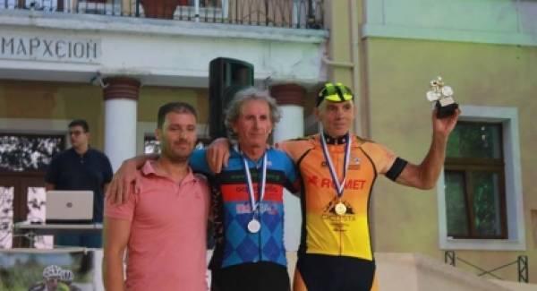 Δεύτερος ο ποδηλάτης του Ευκλή στα Σέρβια Κοζάνης.