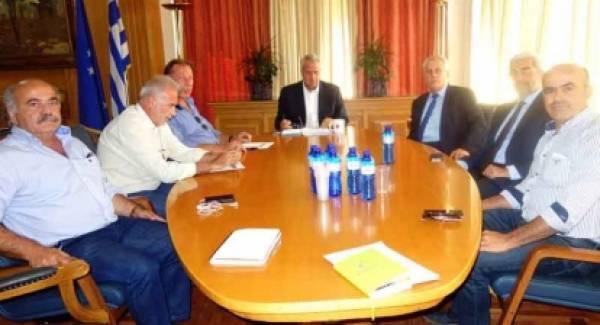 Συνάντηση ΥπΑΑΤ, Μ. Βορίδη με την Εθνική Διεπαγγελματική Οργάνωση Ελαιολάδου