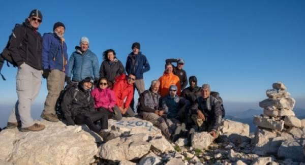 Ταϋγετος: Χαλασμένο βουνό – Προφήτης Ηλίας