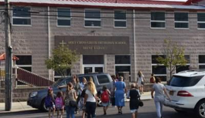 Λουκέτο για το ελληνικό σχολείο της κοινότητας Τιμίου Σταυρού Γουάιτστόουν