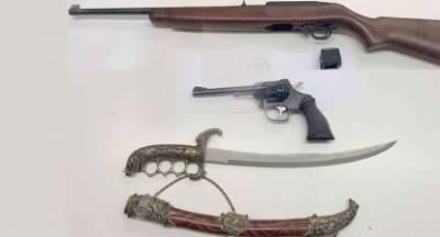 Συνελήφθη  για τα όπλα στη Λακωνία