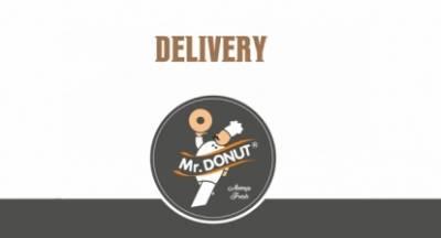 Mr Donut: Aπόλαυση όπου κι αν βρίσκεστε