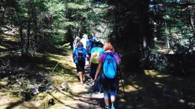 Οι ορειβάτες του Ευκλή εξορμούν στην Ξεροβούνα