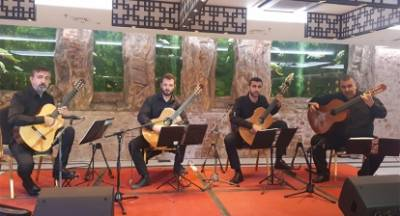 Οι Apollon Guitar Ensemble στο 24ο Παγκόσμιο Ογκολογικό συνέδριο στη Σπάρτη