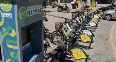 Επαναλειτουργούν τα κοινόχρηστα ποδήλατα στην Πάτρα