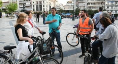 Ποδηλατάδα στην Πάτρα