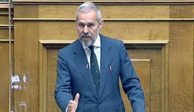 Δαβάκης στη Βουλή: «Ελληνοποιήσεις, Επιδόματα, Αποζημιώσεις, Μελισσοκομία, Κτηνοτροφία, ΕΛΓΑ» (video)