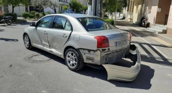 Τροχαίο ατύχημα στη Σπάρτη