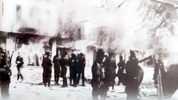 Το Ολοκαύτωμα Αγίου Δημητρίου Δήμου Ευρώτα. 4 Ιουνίου 1944