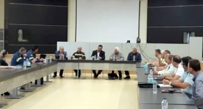 Σύσκεψη Συντονιστικού Οργάνου Πολιτικής Προστασίας Λακωνίας για την αντιμετώπιση  δασικών πυρκαγιών