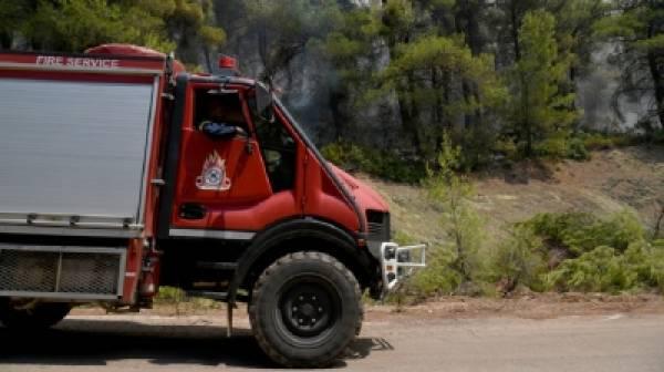 Υψηλός κίνδυνος πυρκαγιάς σε Μεσσηνία και Λακωνία για αύριο Σάββατο