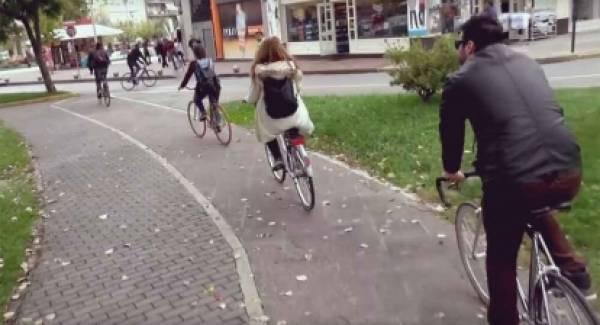 Tουριστική προβολή από Δήμο Καλαμάτας με μέσον το ποδήλατο!