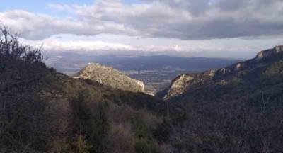 Ο Ορειβατικός Σπάρτης στα μονοπάτια του Μυστρά