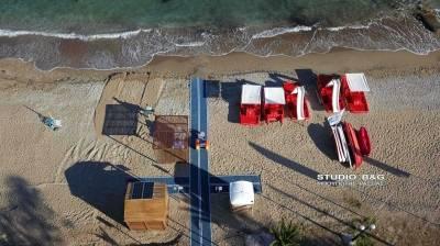 Τέσσερις ράμπες ΑΜΕΑ σε παραλίες του Δήμου Ναυπλιέων (photos - video)