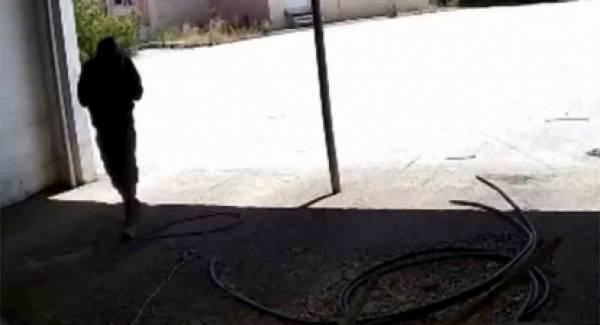 Δείτε την άνεση του διαρρήκτη σε εργοστάσιο της Αργολίδας (video)