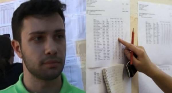 Πανελλήνιες 2020: Ο πρώτος των πρώτων στην Ηλεία (video)