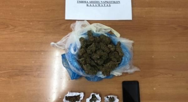 Συνελήφθη 50χρονος για ναρκωτικά στη Μεσσηνία