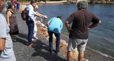 Κρητικός: «Άμεσες ενέργειες για την παραλία του Ξιφιά Λακωνίας»