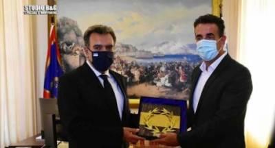 Στον δήμο το Ξενία Ναυπλίου! Αισιοδοξία από τη συνεργασία Κόνσολα – Κωστούρου