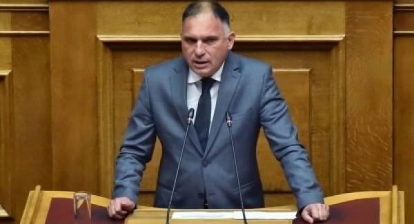 Ερώτηση Κρητικού στη Βουλή για το υποθηκοφυλακείο Σπάρτης