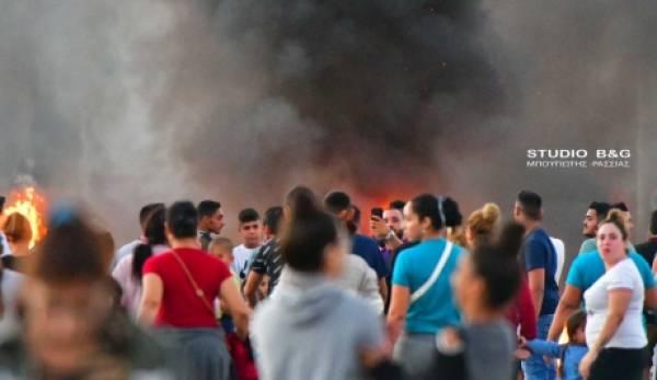 Πελοπόννησος: Ταραχές για το φόνο του 18χρονου Ρομά (video)