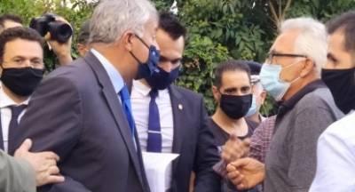 Συνταξιούχοι ΙΚΑ – ΕΦΚΑ Λακωνίας «περίμεναν»  τον υπουργό Βορίδη στα στενά του  Μυστρά!