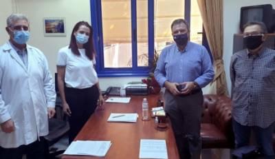 Covid-19 και δωρεά Ιδρύματος «Σταύρος Νιάρχος στην ατζέντα συζήτησης Αραχωβίτη - Παπαγεωργίου