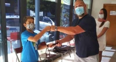 Ένας 12χρονος στην Κυπαρισσία βρήκε και παρέδωσε πορτοφόλι με 455 ευρώ!
