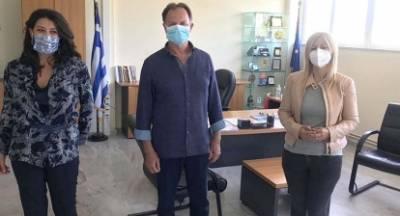 Επίσκεψη στη Λακωνία της αντιπεριφερειάρχη Τουρισμού Α. Καλογεροπούλου