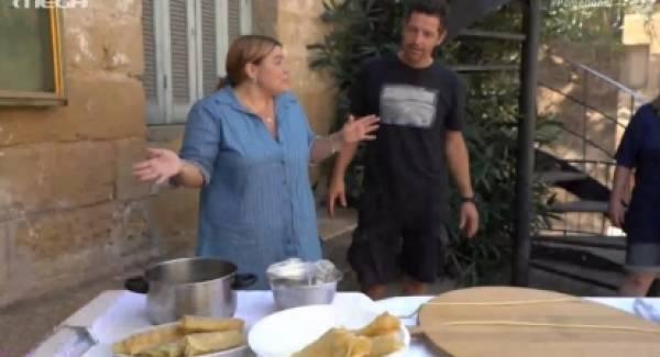 Τι είδαν και τι έφαγαν η Δανάη Μπάρκα και ο Απόστολος Ρουβάς στη Μεσσηνία; (video)