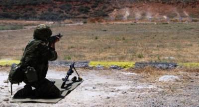 Άσκηση με πραγματικά πυρά στο Πεδίο Βολής Καλαμάτας