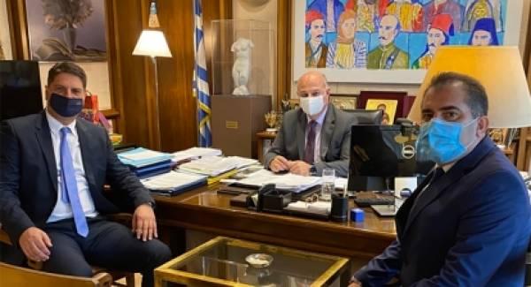 Με τον Υπουργό Δικαιοσύνης συναντήθηκαν οι Δήμαρχοι Καλαμάτας και Μεσσήνης