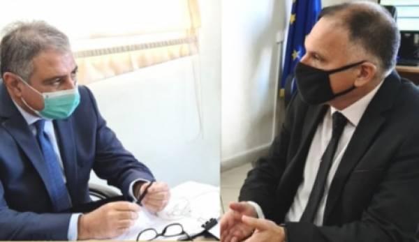 Ο Κρητικός εντόπισε στην 6η ΥΠΕ τα σημεία του ΕΣΥ που επιδέχονται άμεσης βελτίωσης