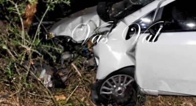 Κατέληξε ο οδηγός που είχε τραυματιστεί σοβαρά σε τροχαίο στα Εξαμίλια Κορινθίας (photos)