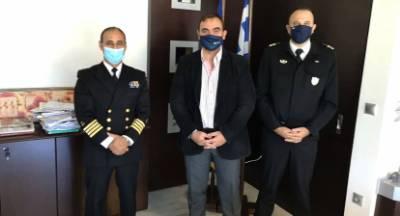 Θ. Βερούτης: Η Π.Ε. Λακωνίας, σταθερά, στη διάθεση του Λιμεναρχείου Γυθείου
