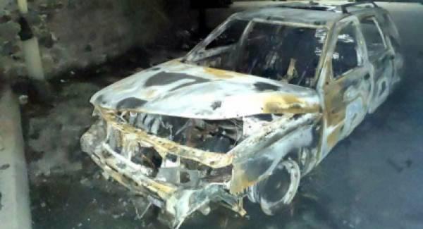 Πυρκαγιά σε αυτοκίνητο στους Βουτιάνους Σπάρτης