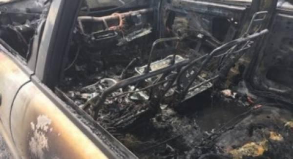 Φωτιά εν κινήσει σε ΙΧ στην Ε.Ο. Κορίνθου – Τρίπολης. Κάηκε ολοσχερώς