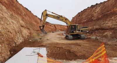 Προχωρούν τα έργα γέφυρας Πόρου – περιφερειακής Γερακίου (photos)