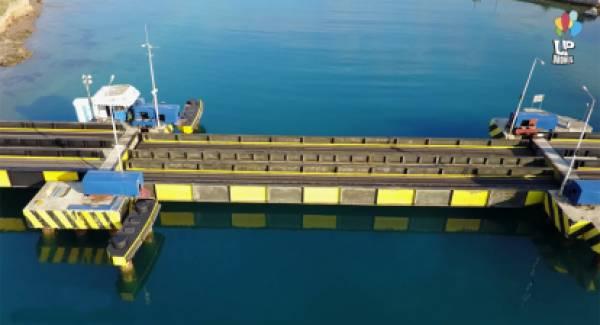 Βελόπουλος: «Πότε θα επισκευαστεί η βυθιζόμενη γέφυρα στον Ισθμό;»