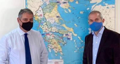 Για την υγεία στη Λακωνία συνεργάστηκαν Δαβάκης- Καρβέλης