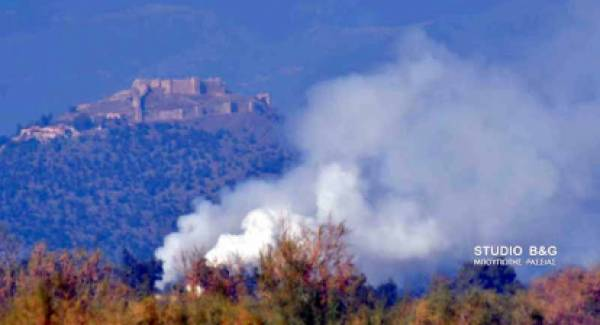 Αφόρητη η κατάσταση στο Ναύπλιο από την κάπνα