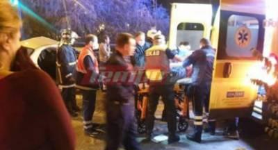 Τροχαίο με πέντε τραυματίες, οι δυο παιδιά, στην Πάτρα