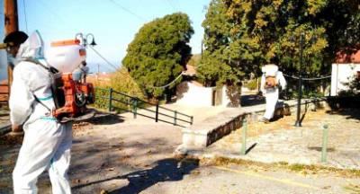 Απολυμάνσεις στον Δήμο Γορτυνίας