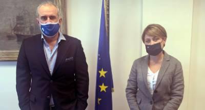 Ενημέρωση της βουλευτού Αλεξοπούλου για την αναβάθμιση του λιμένα Πάτρας