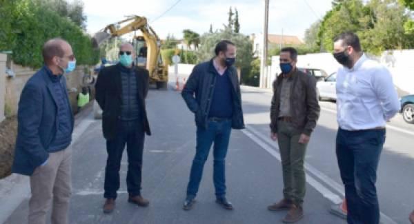 Στα έργα συντήρησης της παλαιάς εθνικής οδού Πατρών - Κορίνθου ο Περιφερειάρχης Φαρμάκης