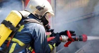 Κάηκε ολοσχερώς ελαιοτριβείο στη Ρίζα Κορινθίας