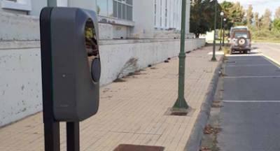 Φορτιστές ηλεκτρικών οχημάτων στο Διοικητήριο Λακωνίας