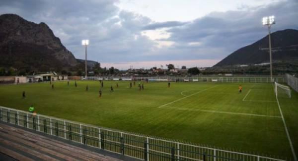 Ανοιχτό για το κοινό το βοηθητικό γήπεδο Λεωνιδίου για ατομική άσκηση